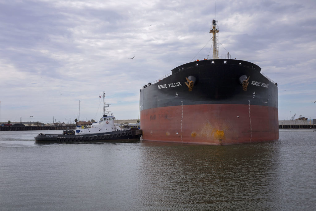 Nordic Pollux is Largest Cargo Ship at the Port of Brownsville